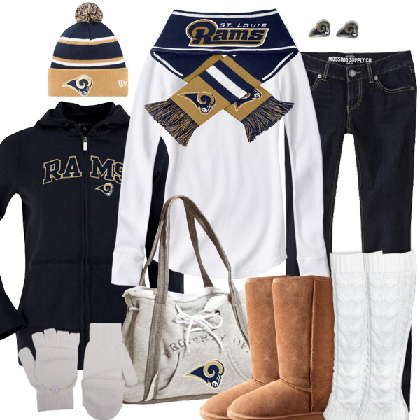 St. Louis Rams Inspired Winter Fashion