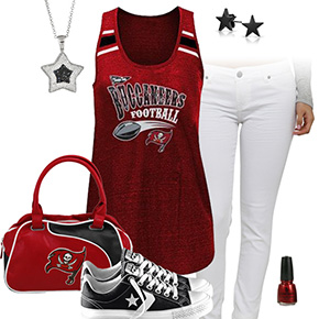 Tampa Bay Buccaneers Outfit With Converse