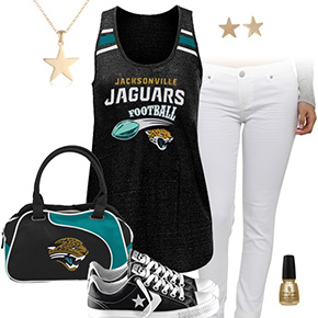Jacksonville Jaguars Outfit With Converse
