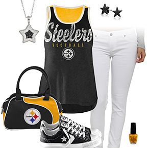 Pittsburgh Steelers Outfit With Converse
