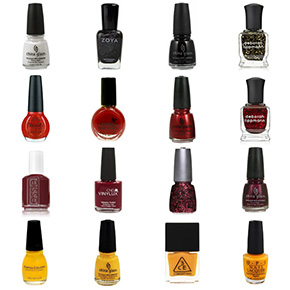 Washington Redskins Nail Polish Colors