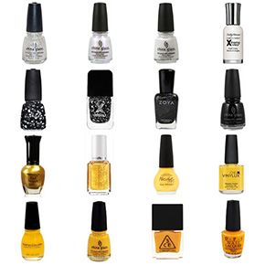 Pittsburgh Steelers Nail Polish Colors