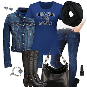 Orlando Magic Jean Jacket Outfit