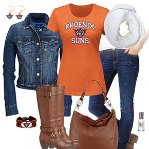 Phoenix Suns Jean Jacket Outfit