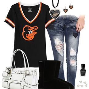 Cute Baltimore Orioles Tshirt