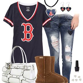 Cute Boston Red Sox Tshirt