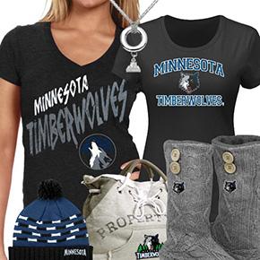 Cute Timberwolves Fan Gear