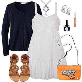 Charlotte Bobcats Dress Outfit