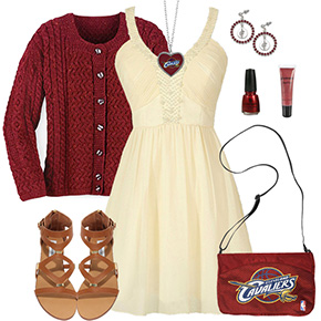 Cleveland Cavaliers Dress Outfit