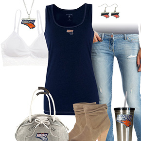 Charlotte Bobcats Tank Top Outfit