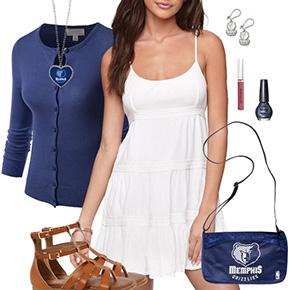 Memphis Grizzlies Dress Outfit