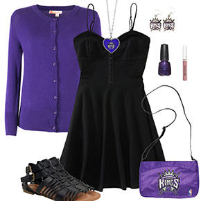 Sacramento Kings Dress Outfit