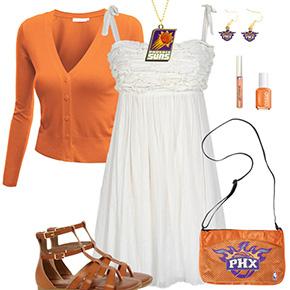 Phoenix Suns Dress Outfit