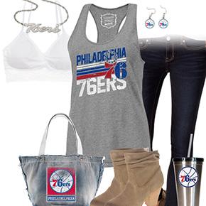 Philadelphia 76ers Tank Top Outfit