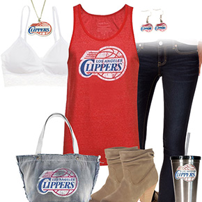 Los Angeles Clippers Tank Top Outfit