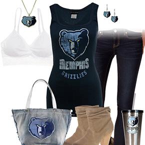 Memphis Grizzlies Tank Top Outfit