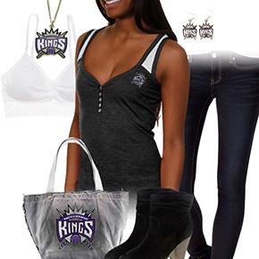 Sacramento Kings Tank Top Outfit