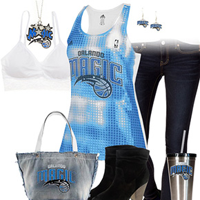 Orlando Magic Tank Top Outfit
