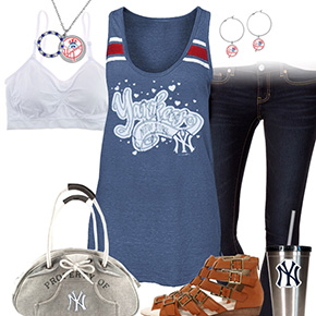 New York Yankees Sweater Outfit