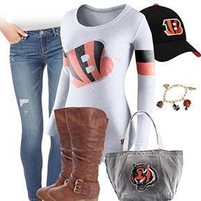 Cincinnati Bengals Inspired Outfit