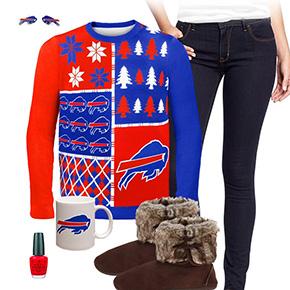 Buffalo Bills Sweater Outfit