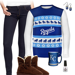 Kansas City Royals Sweater Outfit