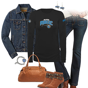 Orlando Magic Flare Jeans Outfit