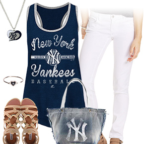 New York Yankees Tank Top Outfit