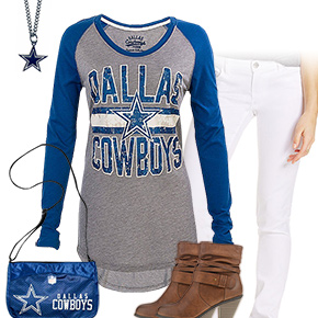 Cute Dallas Cowboys Kickoff Outfit