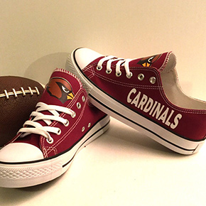 Arizona Cardinals Converse Sneakers