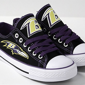 Baltimore Ravens Converse Sneakers