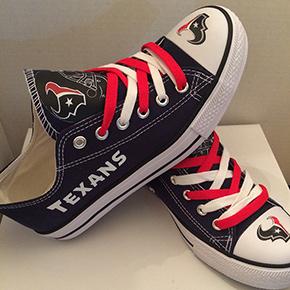 Houston Texans Converse Sneakers