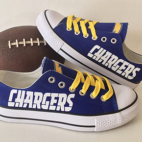 San Diego Chargers Converse Sneakers