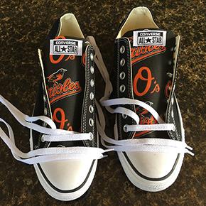 Baltimore Orioles Converse Shoes
