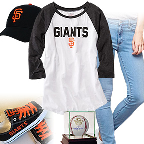 San Francisco Giants Baseball Tee