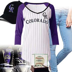 Colorado Rockies Baseball Tee