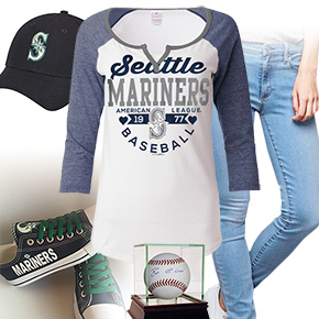 Seattle Mariners Baseball Tee
